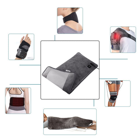 types_of_far_infrared_heating_pads_ FIR_therapy
