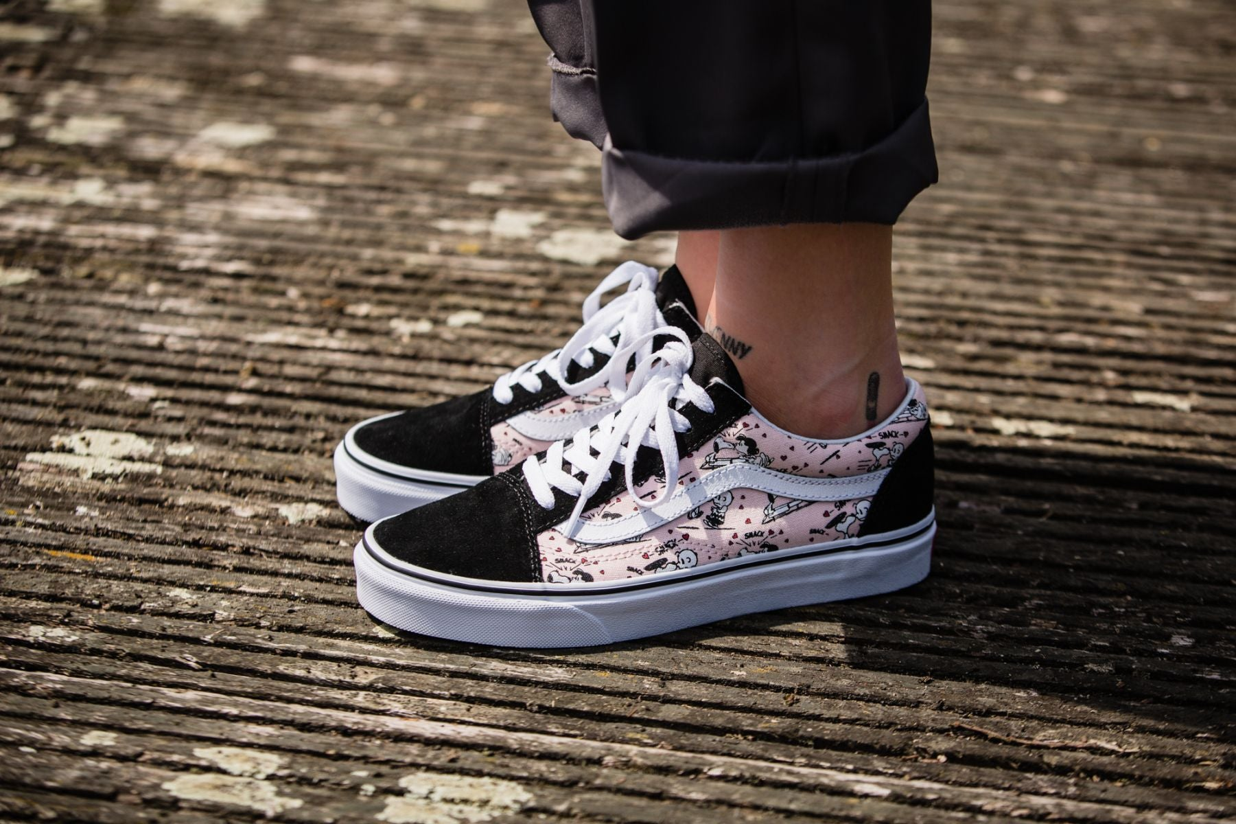 Vans x Peanuts Old Skool SmackPearl ENStest