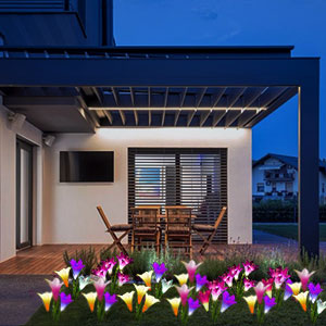 Outdoor Solar Garden Stake Lights