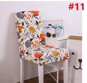 Fuloon Super Fit Stretch Removable Washable Short Dining Chair Protector Cover Seat Slipcover for Hotel,Dining Room,Ceremony,Banquet Wedding Party, Delight Dining Room Chair Covers,Velvet Stretch Chair Covers for Dining Room,Removable Washable Dining Chair Covers, purefeel.shop