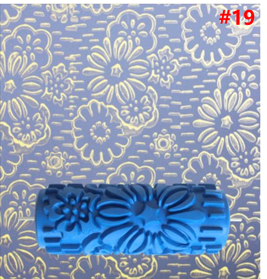 Patterned Paint Roller Decorative Texture Roller