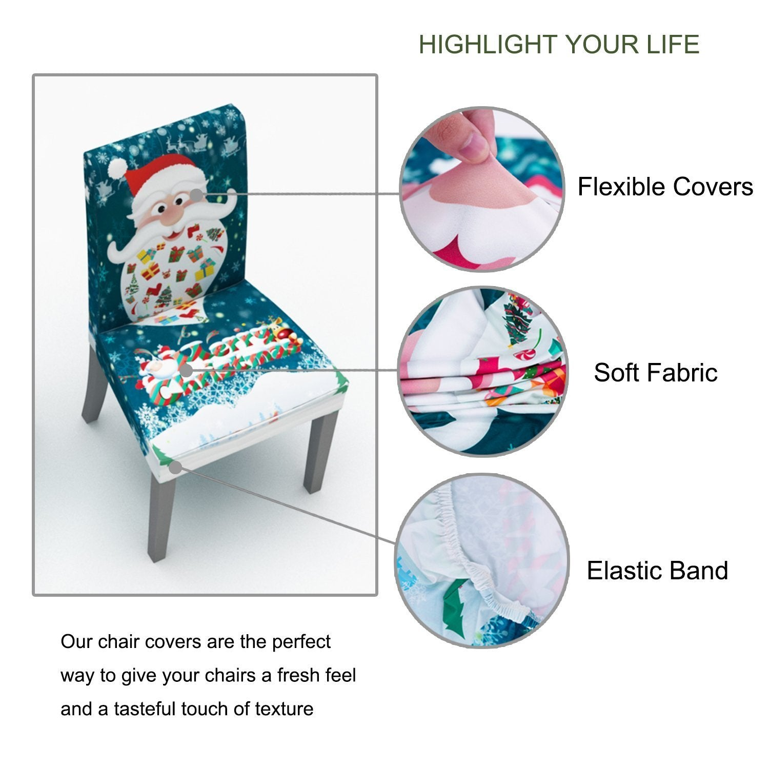 2019 New Christmas Chair Cover