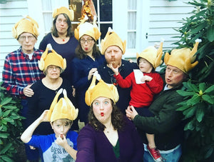 Plush Roasted Turkey Hats Thanksgiving Costume