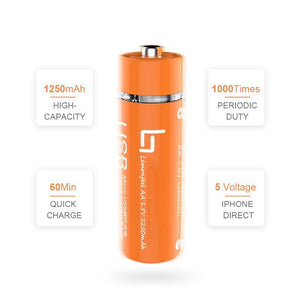 AA Battery Power Bank- Buy 2 Free Shipping