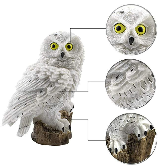 2019 New Owl Shape Solar Powered LED Lamp Outdoor