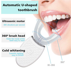 360° Ultrasonic Auto Toothbrush