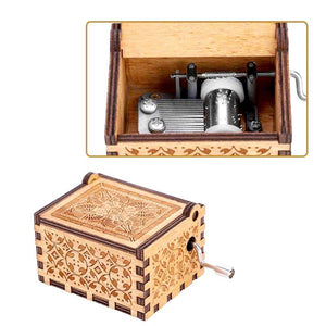 Limited Edition Q – Engraved Music Box