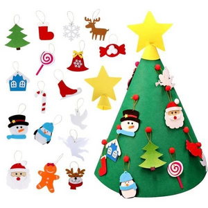 3D DIY Felt Christmas Tree