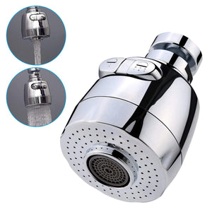Metal 360° Rotating Faucet Booster Shower