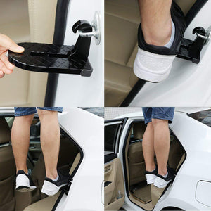 Car Doorstep-Easy Access to Car Rooftop Roof-Rack