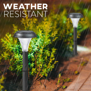 2019 New Solar Pathway Lights Outdoor- for Garden Yard Lawn Path Walkway Driveway Sidewalk Outside