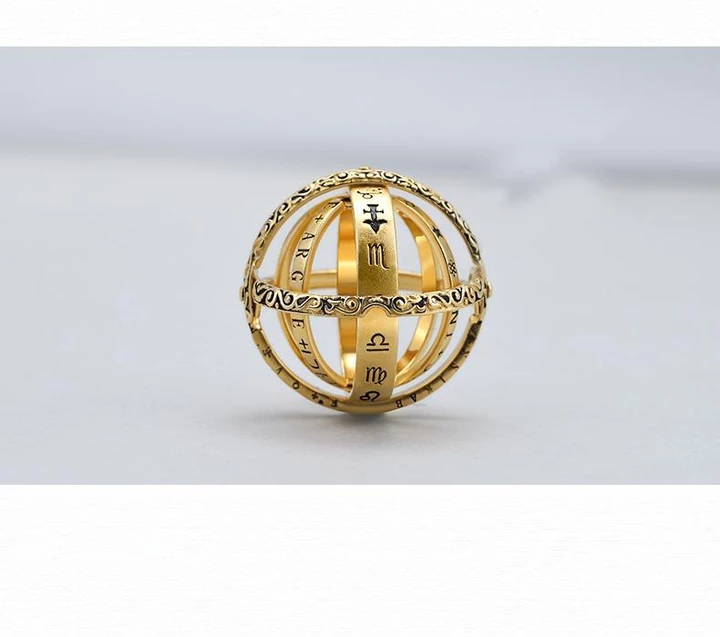 Best Gift-16th Century Germany Astronomical Ring