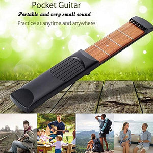 Portable Pocket Guitar - Come with Black Bag