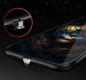 Intelligent Music Control IPhone Case - New Fashion Glowing Led Case