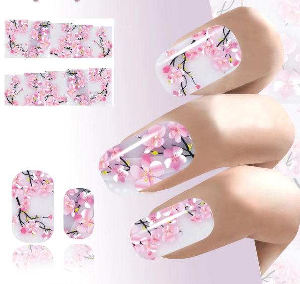 10PCS Nail Art Transfer Foil