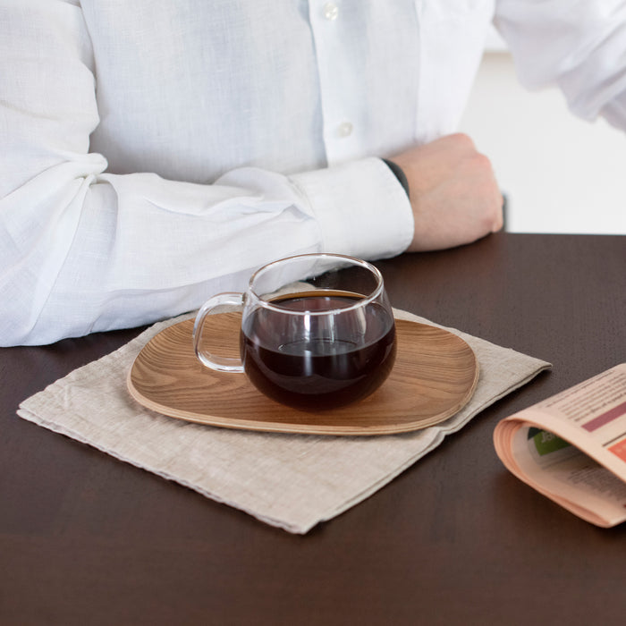 Coffee and Kinto Cup with Tray