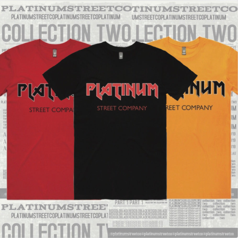 Platinum Heavy Metal Tee