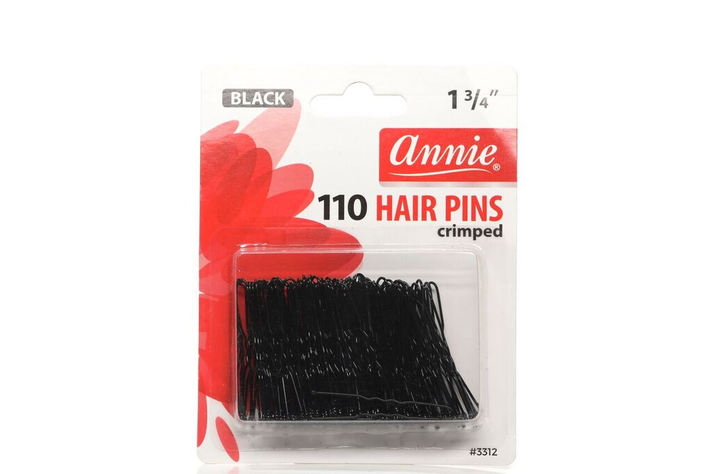"Annie 1 3/4"" 110 HAIR PINS crimped"
