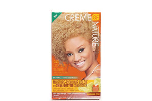 CREME OF NATURE MOISTURE RICH HAIR COLOR LIGHTEST BLONDE