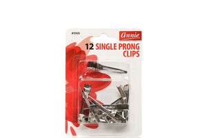 Annie 12 SINGLE PRONG CLIPS