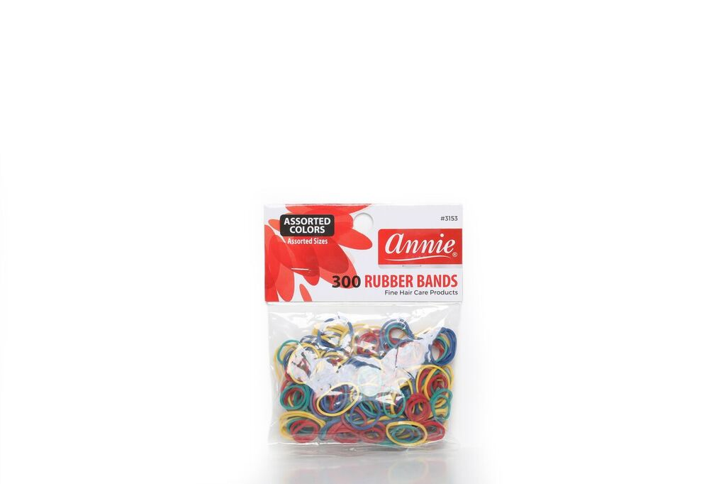 Annie 300 RUBBER BANDS ASSORTED COLORS