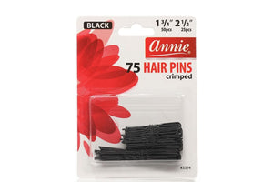 "Annie 1 3/4"" 2 1/2"" 75 HAIR PINS crimped"