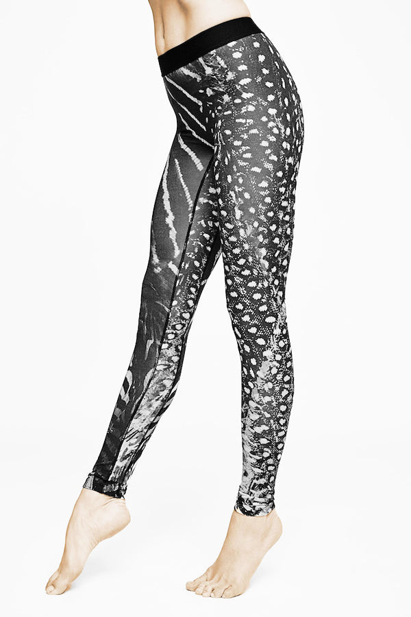 Sustainable sportswear - ethical activewear - Vyayama - shadow leggings - tencel - Garmendo
