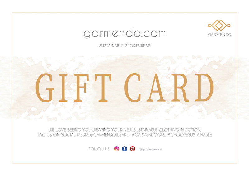 Sustainable Digital Gift Card