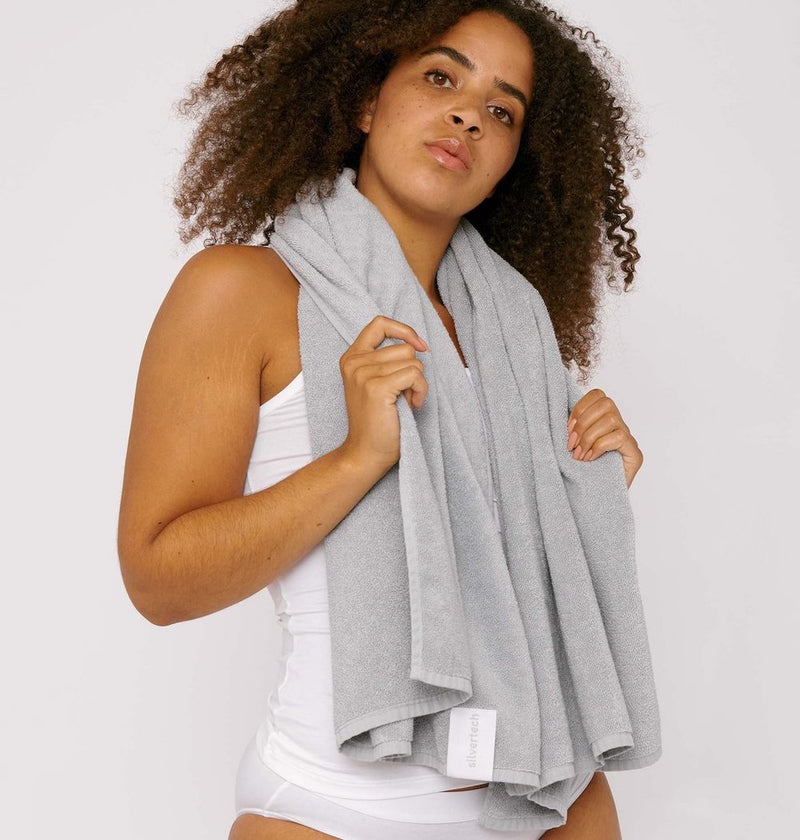 SilverTech Towel Grey