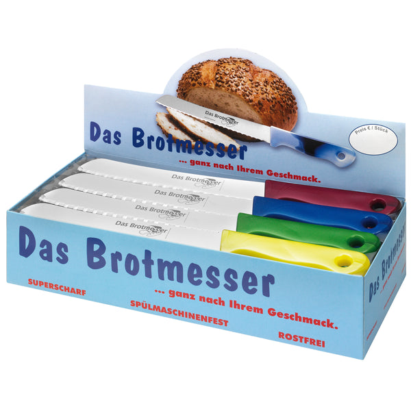 Brotmesser-Display – METALLIC