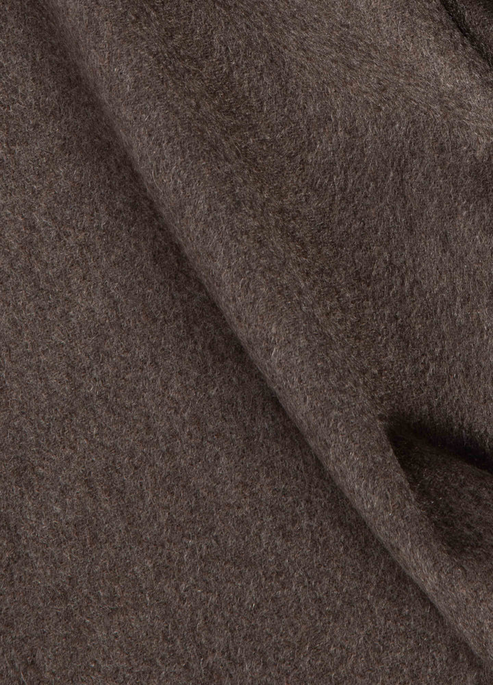 Cashmere Scarf - Cold Brown Berg&Berg