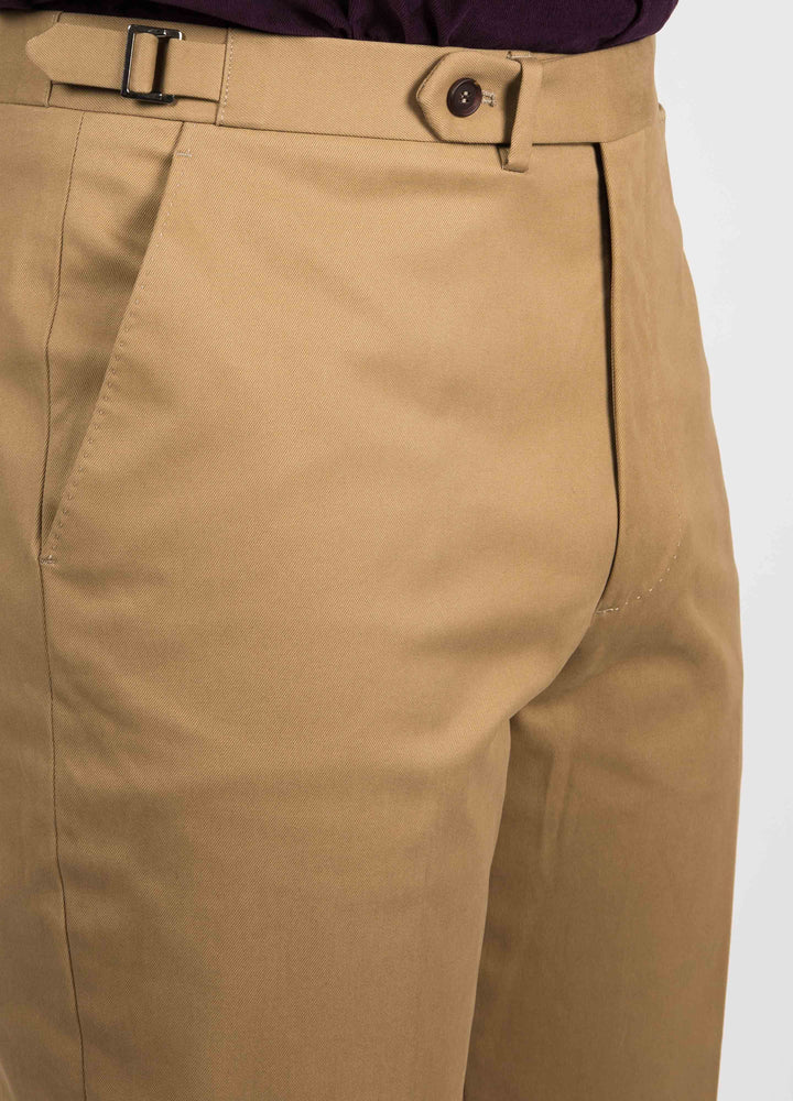 Alfons Cotton Trousers - Sand bergbergstore