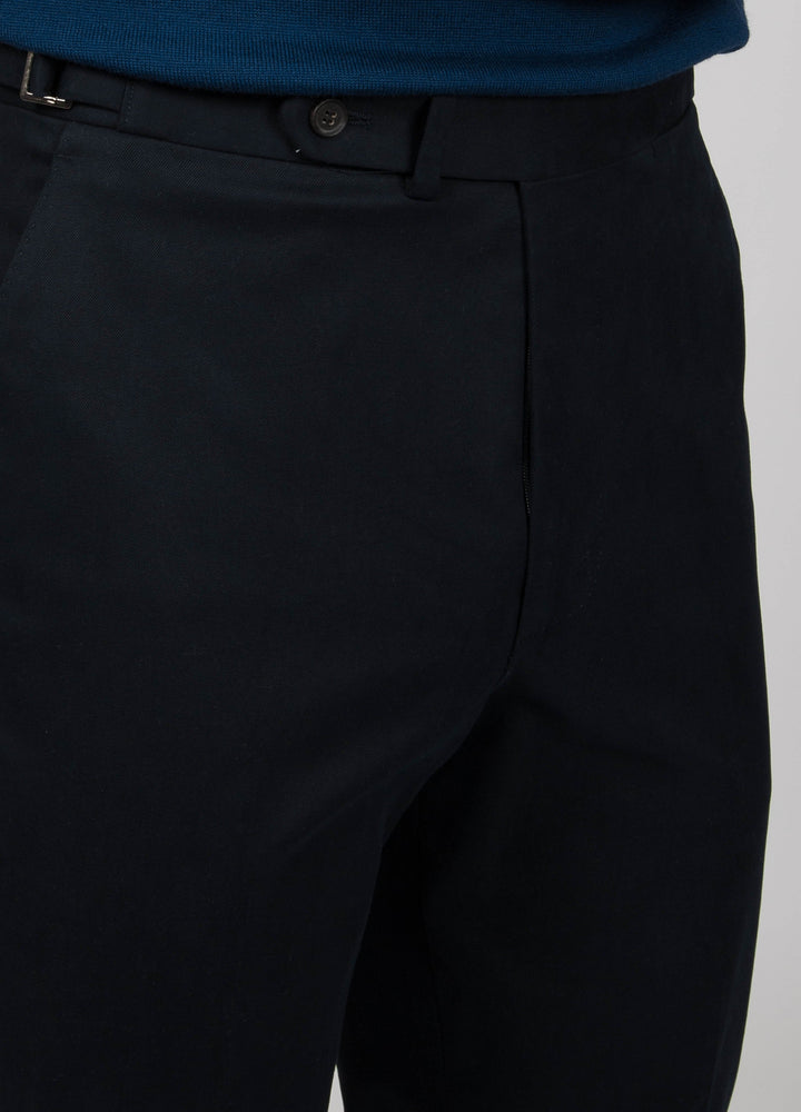 Alfons Cotton Trousers - Navy bergbergstore