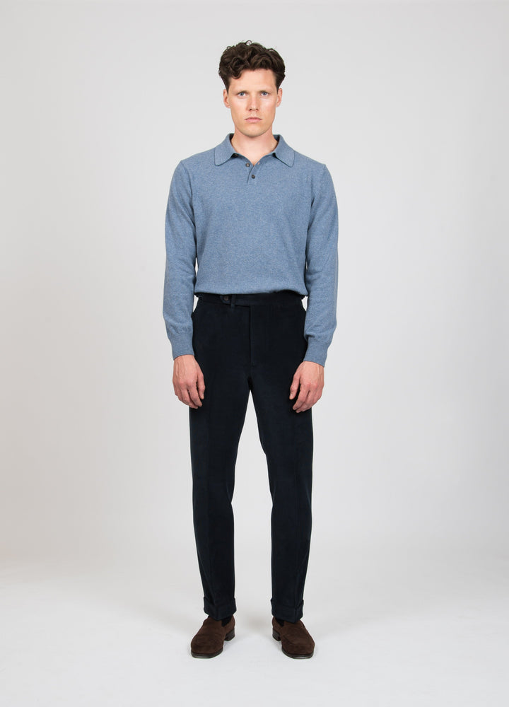 Alfons Corduroy Trousers - Navy bergbergstore