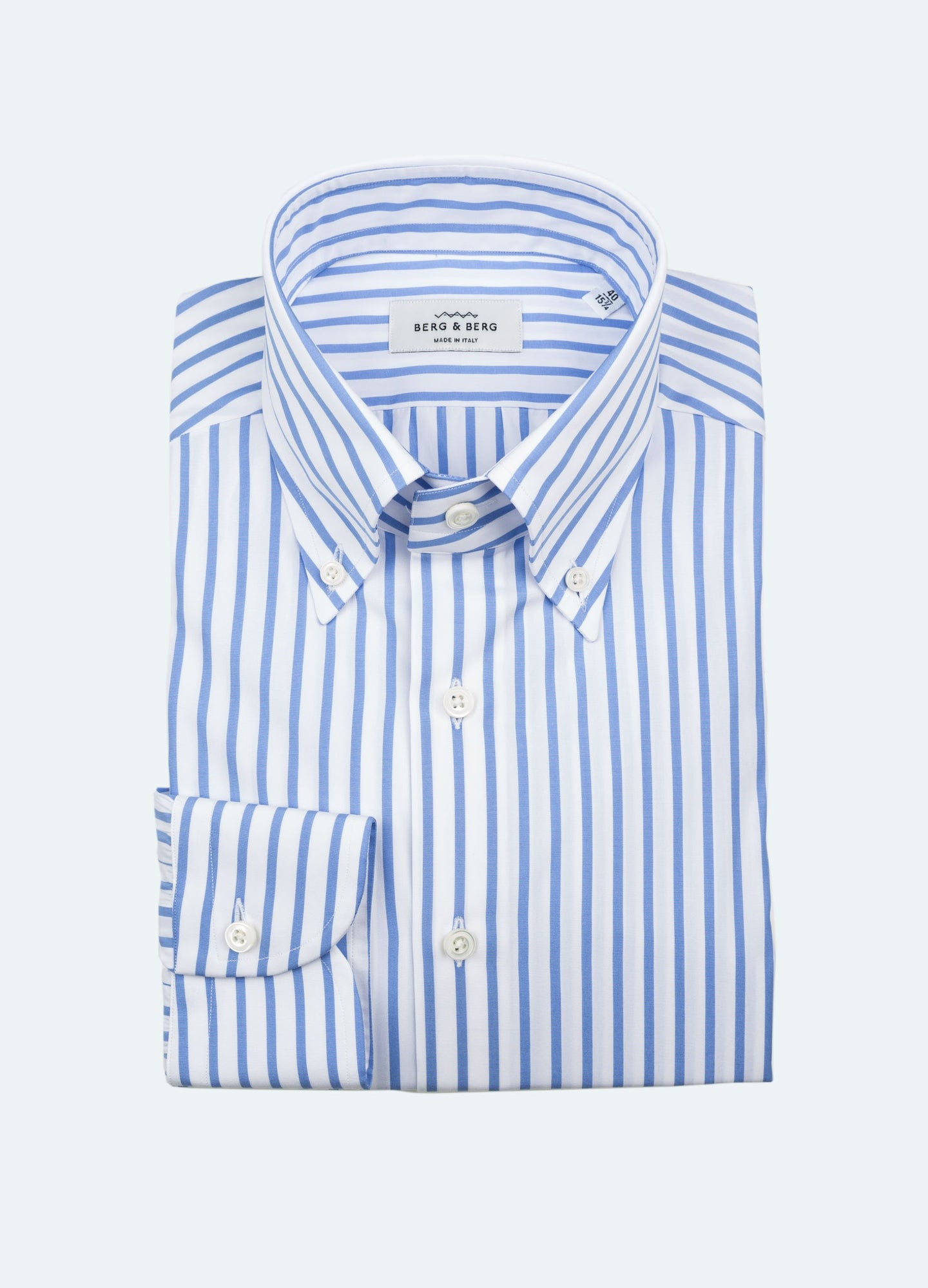 Handmade Striped Button Down Shirt