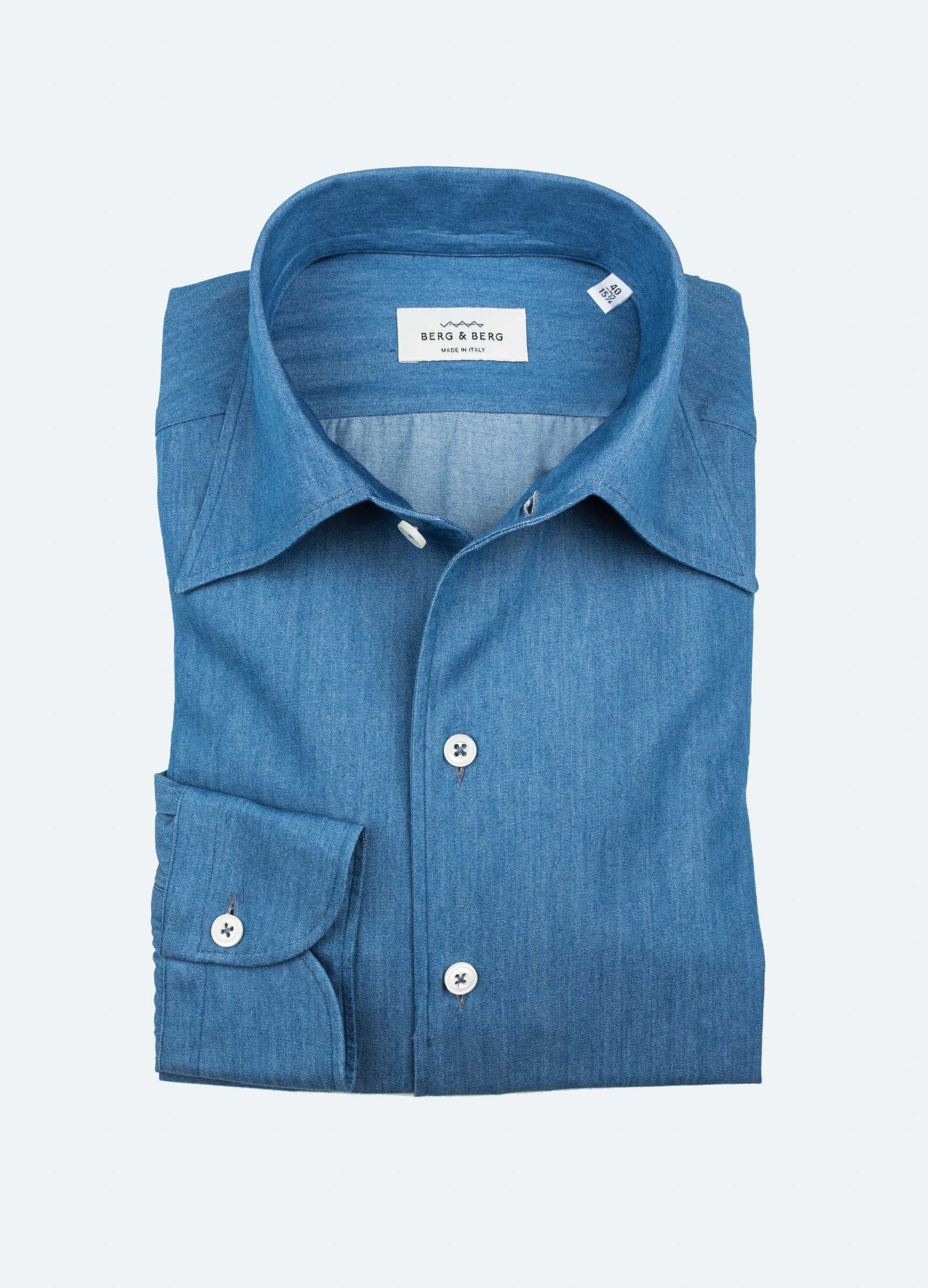 Chambray One Piece Collar Shirt