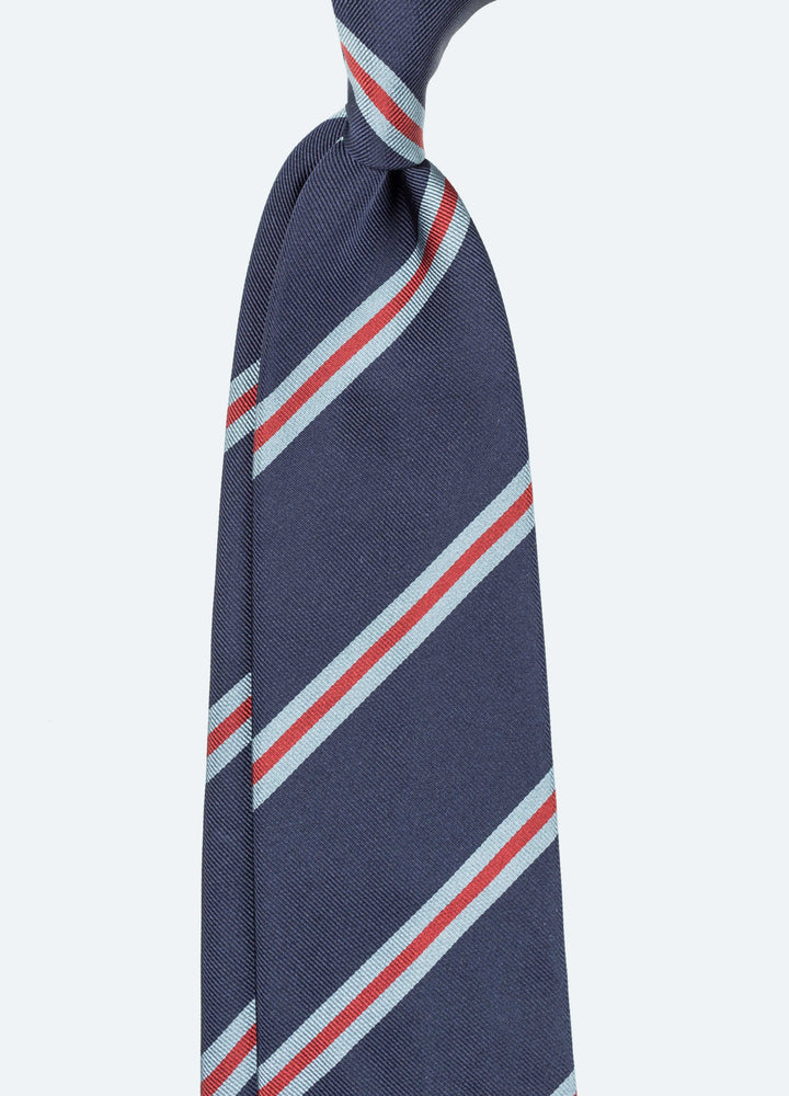 b1249c10cccc AVAILABLE SIZES. 9cm. Tie. Handrolled Repp Silk