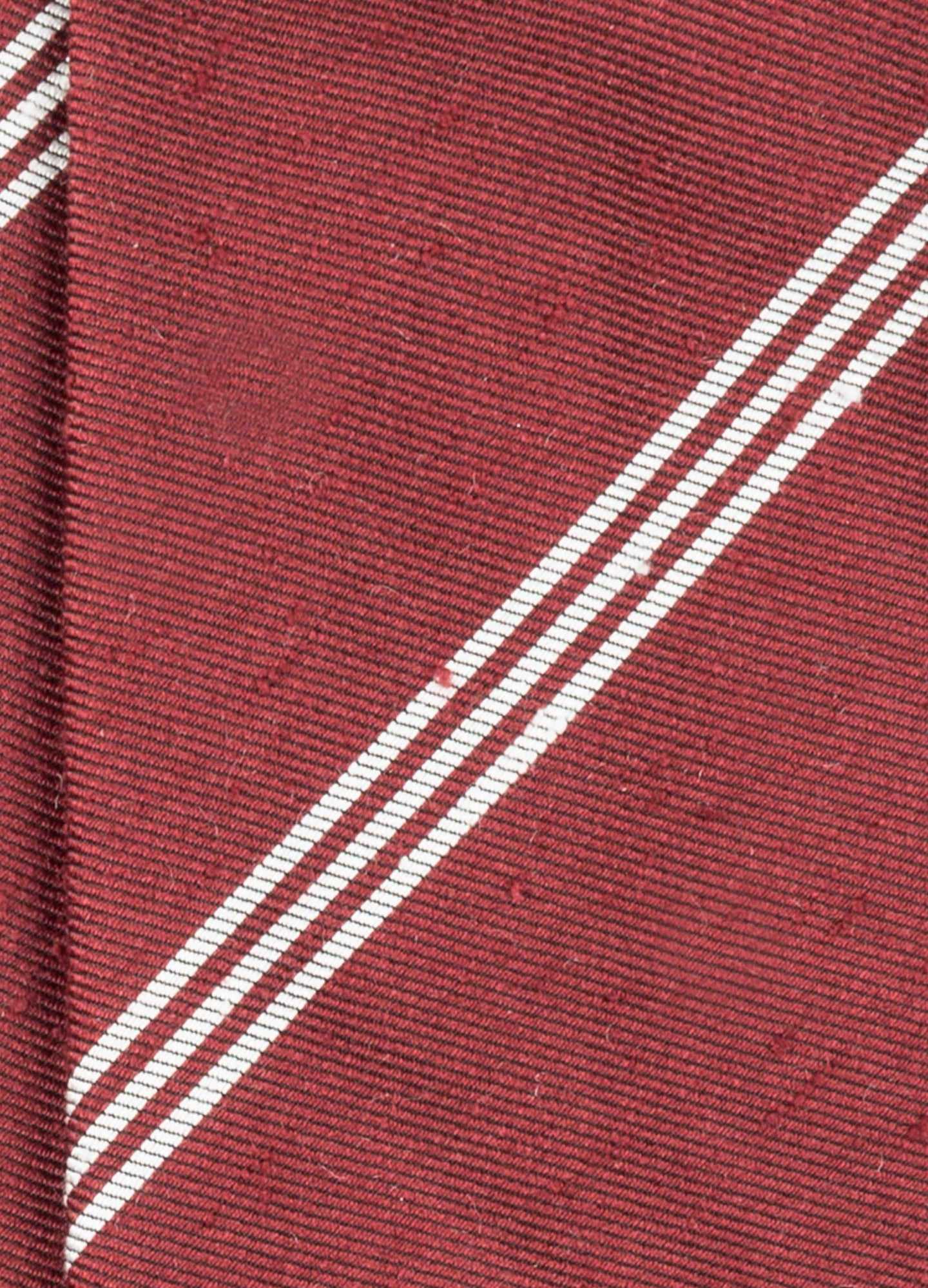 Handrolled Shantung Striped