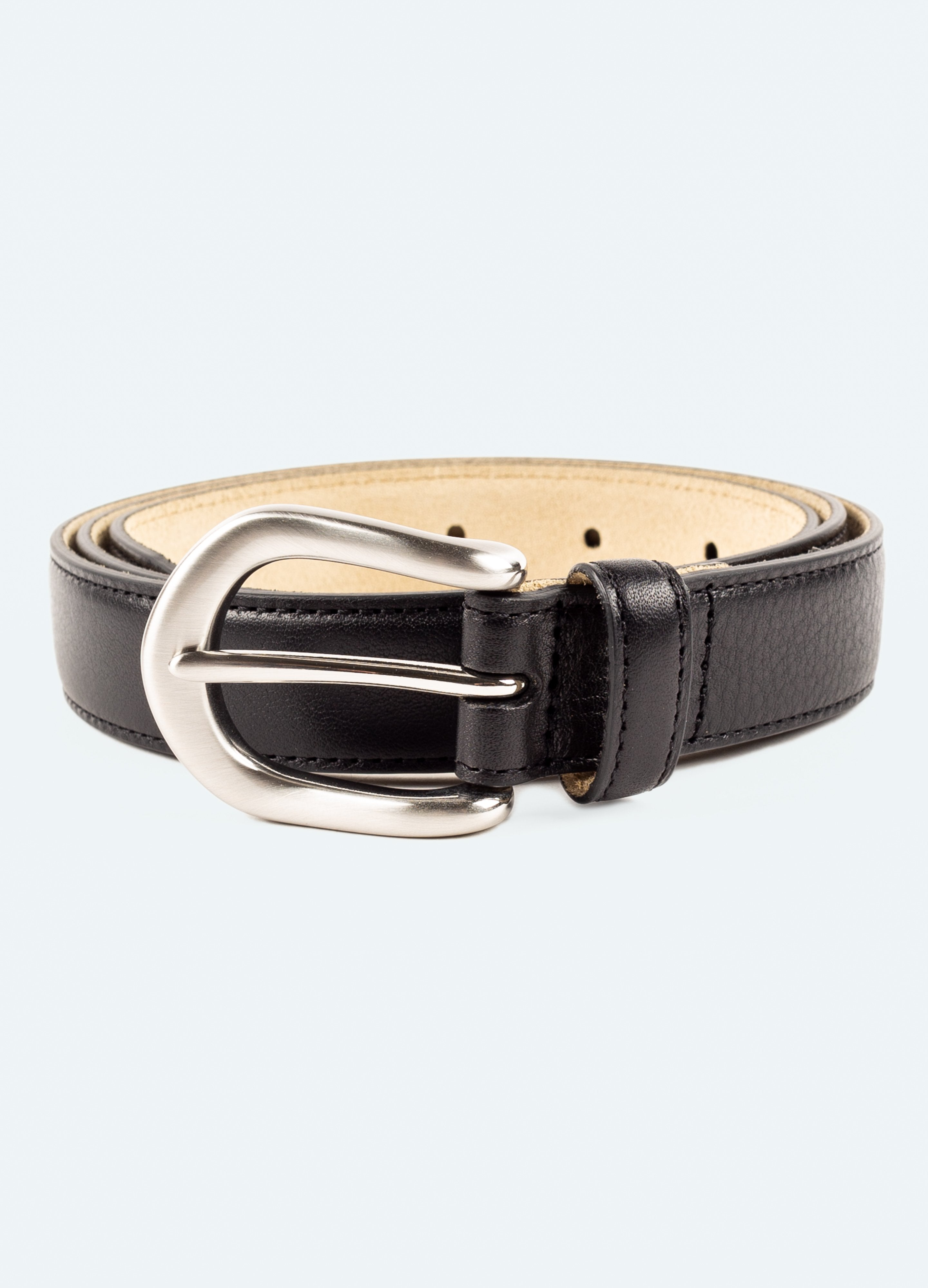 Slim Grained Leather