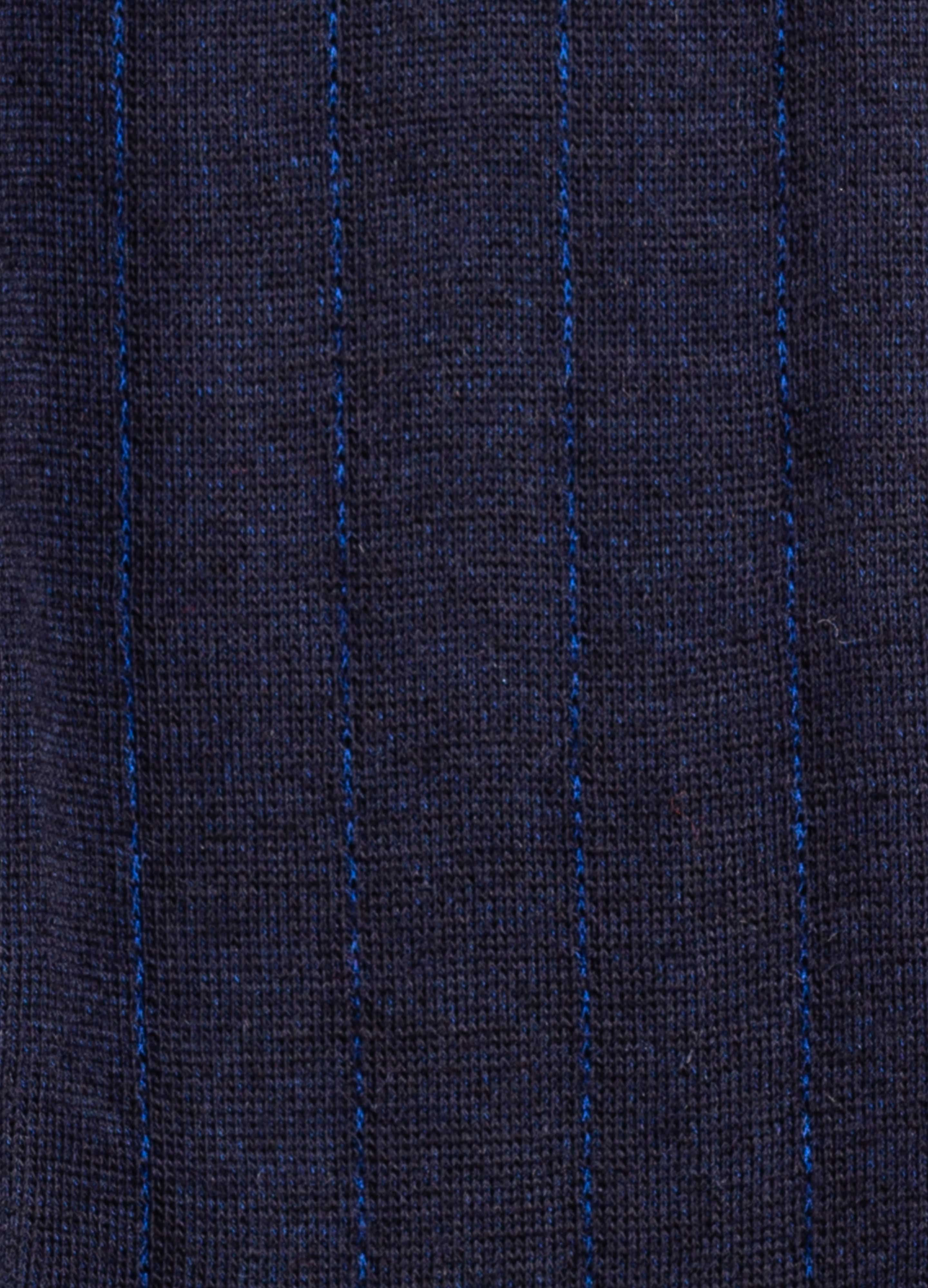 Over the Calf Pinstripe Wool