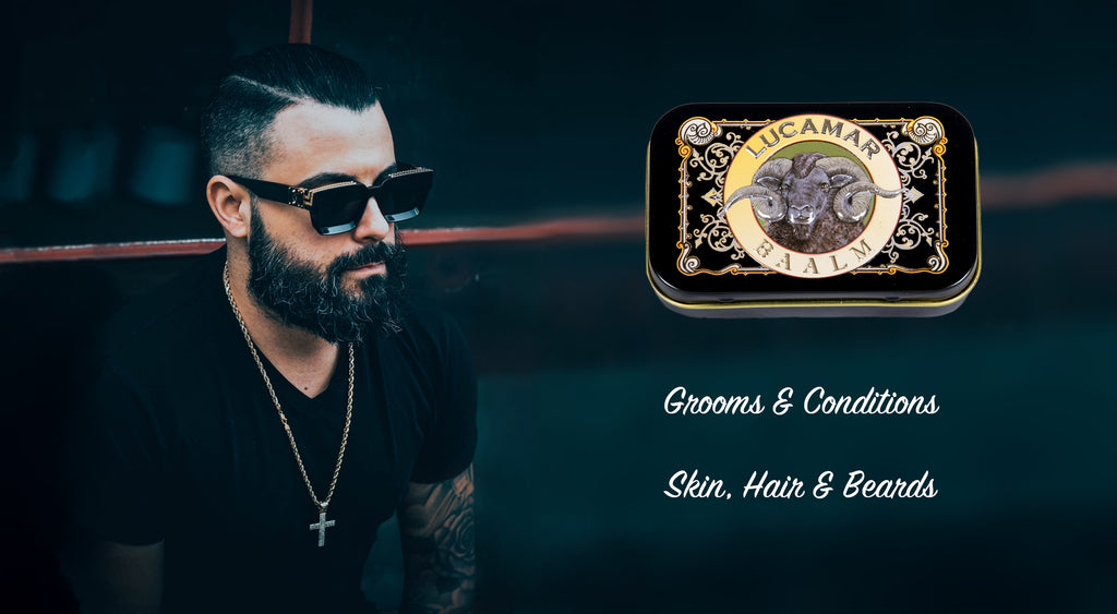Grooms conditions skin, hair and beards