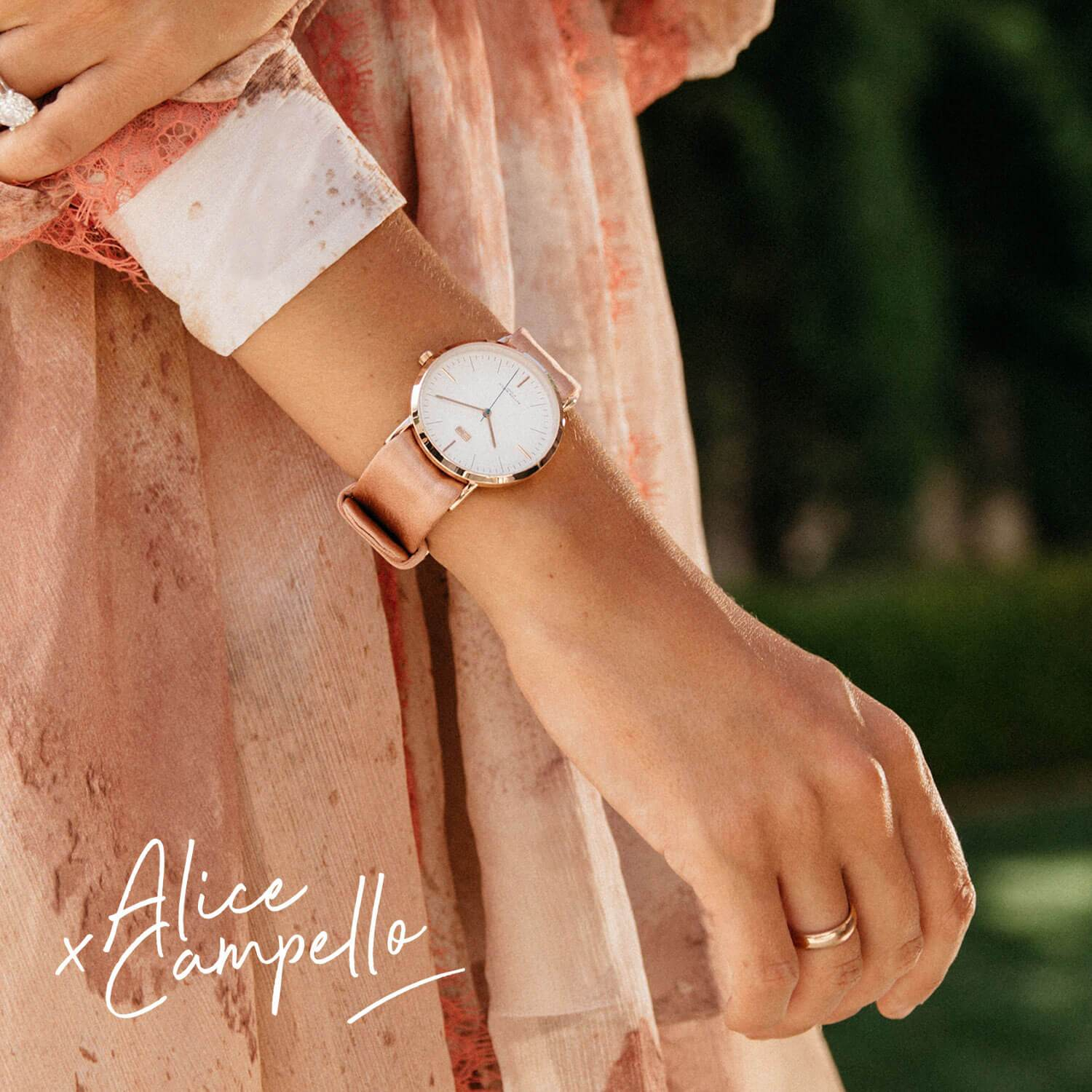 Rose Gold Splendere Box x Alice Campello