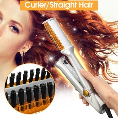 DUAL ROTATING - STRAIGHTENING & CURLING IRON