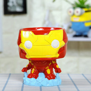 SUPERHEROES SUCCULENT PLANTER POT