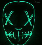 NEW HALLOWEEN THE PURGE LED MASK