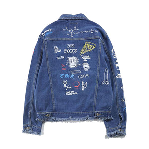 """Graffiti"" Denim Jacket"