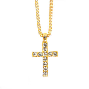 "Free ""Blasted Cross"" Chain"