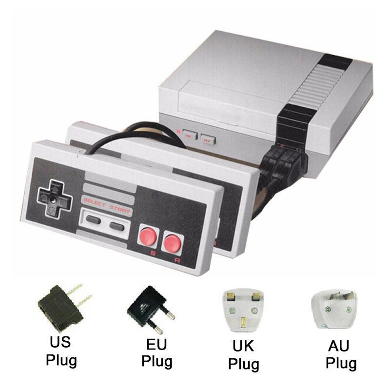 retro video console with 600 built in games