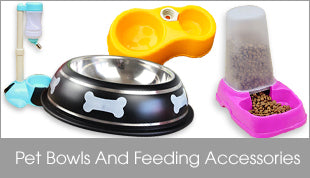 Pet Bowls And Feeding Accessories