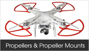 DJI Propellers and Propeller Mounts